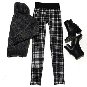 🆕PLAID WINTER FLEECE LINED LEGGING